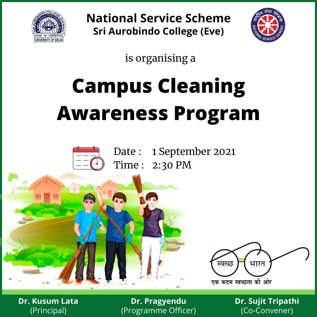 Campus Cleaning Awareness Program